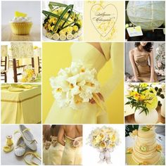 items that are the color yellow | Hot Wedding Color Ideas ... | All Women Stalk