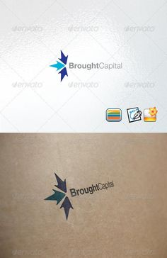 Buy Broughtcapital by enio on GraphicRiver. Clear Vector Logo Could be used for businesses and needs, easy to edit and made any change you may want EPS version i. Logo Design Template, Logo Templates, Web Design, Graphic Design, Arrow Logo, Finance Logo, Portfolio Logo, Typography, Lettering