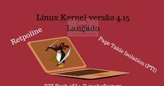Kernel Linux 4.15 novidades.