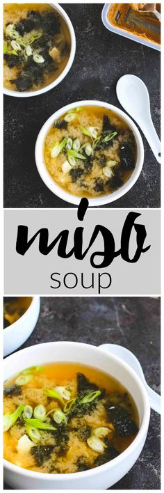 Miso Soup | Killing Thyme — 15 minutes from start to finish.