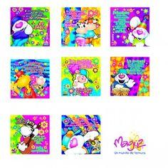 tarjetas mini blue Mini, Anime, Blue, Birthday Charts, Bag Packaging, Creative Gifts, Cartoon Movies, Anime Music, Animation