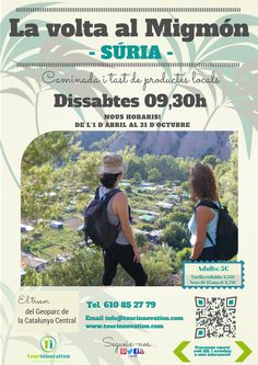 The Tour Around The Migmón in Catalan, Spanish & English on saturdays, Súria (Barcelona) Spanish English, Sustainable Development, Augmented Reality, Tour Guide, Wonderful Places, Geology, Tourism, Barcelona, Places To Visit