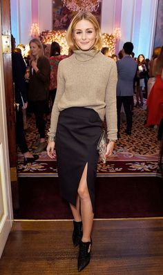 olivia palermo wearing turtleneck