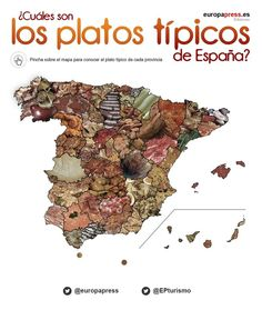 Mapa interactivo - gastronomía Spanish Teaching Resources, Spanish Lessons, Learning Spanish, Tapas, Teaching Culture, Latin American Food, Learn Spanish Online, Mexican Holiday, Spanish Classroom