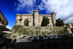 Castello Orsini-Odescalchi, Bracciano, Lazio, Italy Castello Orsini-Odescalchi is a castle in Bracciano, in the Province of Rome, Lazio, Italy. It is located on the southern shore of Lake Bracciano. It was built in the 15th century, and combines the functions of a military defence structure and a civilian residence of the feudal lords of the period, the Orsini and Borgia, both papal families.