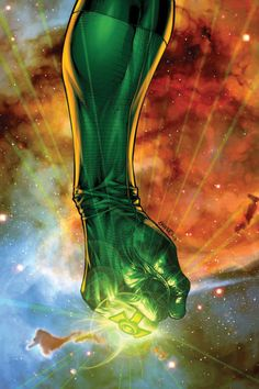 In brightest day, in blackest night, no evil shall escape my sight. Let those who worship evil's might, beware my power GREEN LANTERN'S LIGHT