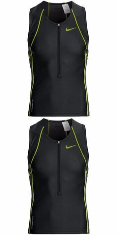 Track Suits 59339: New Nike Tri Suit Swim Top Quick-Drying Mens Light Weight Running/Triathlon Med BUY IT NOW ONLY: $55.25