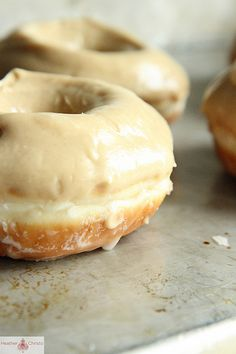 Peanut Butter and Jelly Donuts by Heather Christo, via Flickr