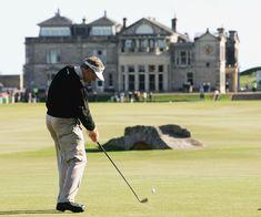 St. Andrews Golf course.  Scotland