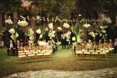 """Flores """"colgadas"""""""