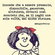 Mafalda - succede che a essere ...