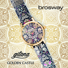 WATCHES | GITANA | WGI20 - GOLDEN CASTLE | Brosway #Brosway #Gitana #GoldenCastle #watch #orologio #gotik #gotica #pattern