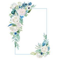 Painel de comentários Floral Wallpaper Phone, Flower Background Wallpaper, Flower Backgrounds, Wallpaper Backgrounds, Plant Wallpaper, Frame Floral, Flower Frame, Wedding Cards, Wedding Invitations