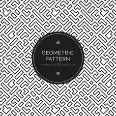 Geometric pattern vectors, photos and psd files Geometric Patterns, Geometric Shapes Art, Textile Pattern Design, Art Deco Pattern, Textile Patterns, Pattern Designs, Pattern Images, Vector Pattern, Free Pattern