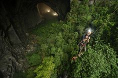 The Son Doong Cave in Vietnam is the biggest cave in the world. It's over 5.5 miles long, has a jungle and river, and could fit a 40-story skyscraper within its walls.