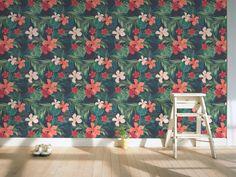 手绘热带雨林植物树叶墙纸V5(图片编号:15634257)_欧式墙纸_我图网