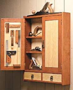 Beautiful tool cabinet