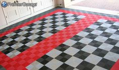 What is modular garage flooring? Why Motofloor garage tiles are getting so popular? What are their advantages compared to other types of garage flooring? Rubber Garage Flooring, Garage Flooring Options, Garage Floor Tiles, Diy Flooring, Tile Floor, Flooring Ideas, Garage Shop, Garage House, Car Garage