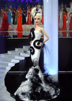 Miss New Zealand 2013/2014 - International Pageant Collection - NiniMomo Doll
