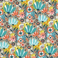 orange you lucky!: blooming pattern . . .