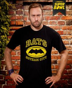 Fantasy Super Bowl Bats Tshirt Husband Gift Funny by store365