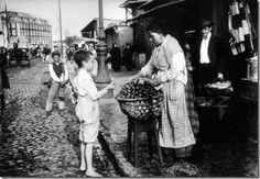 Vendedora de figos