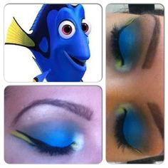 ! Nemo look!  Would do this for a Halloween party