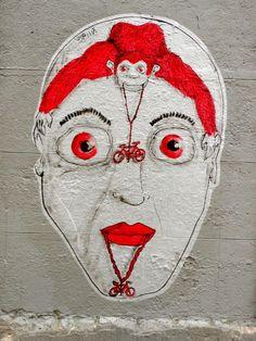 Hopnn - Italian Street Artist - Paris (F) - 2014 #hopnn #streetart