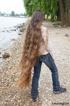 Very Long Hair, Amazing Hair, Cool Hairstyles, Hair Beauty, Long Hair Styles, Long Long Hair, Fancy Hairstyles, Long Hairstyle, Long Haircuts