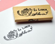 Ex Libris Stamp  Someone pls.