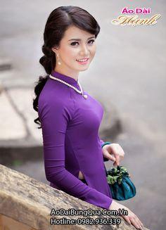 Tinh hoa của áo dài Huế đều chứa đựng ở áo dài Hạnh