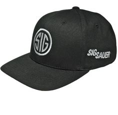 SIG SAUER Flex-Fit Hat with SIG Mark size=L/XL