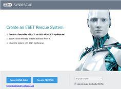 Eset SysRescue Live Create bootable media using ESET SysRescue Live