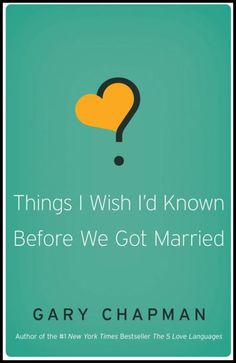 Textbook: Things I Wish I'd Known Before We Got Married - ISBN 9780802481832
