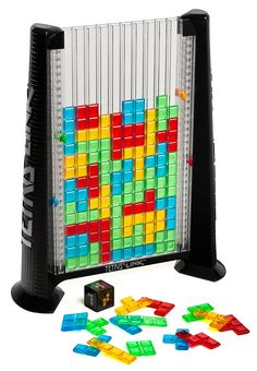 Tetris Link. Here is a great idea. Connect 4 meets Tetris. Like it? #gaming #merchandise #taymai