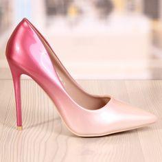 Poze Pantofi Stiletto Revlon Peach Cod: 728