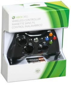 *Xbox 360 Black Wireless Controller Play and Charge Kit