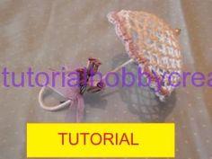Tutorial per realizzare un ombrellino all'uncinetto inamidato (1) Crochet Designs, Crochet Patterns, Crochet Ideas, Easter Crochet, Sweetest Day, Doll Furniture, Irish Crochet, Barbie Dolls, Diy And Crafts