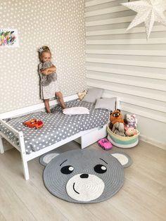 Crochet play mat, Nursery rug crochet, Play room decor, Cotton rug, Woodland nursery rug – Newest Rug Collections Crochet Mat, Crochet Rug Patterns, Crochet Carpet, Crochet Home, Nursery Rugs, Room Rugs, Animal Rug, Bear Rug, Childrens Rugs
