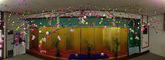 【だんご木】小正月の恒例行事『だんご木』を飾り付けが完了しました。今年のものは昨年のものより一回り以上大きい、迫力のあるものとなりました!    今年も谷地八幡宮巴会(ともえかい)より槙 則吉さんにご協力いただき、だんご木を飾り付けを行いました。誠にありがとうございました。    また、大広間では明後日13日(日)より新春書初め展を開催します。    参拝の折、あわせてをご覧下さい!!
