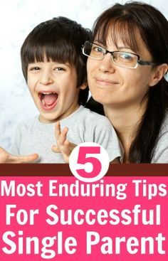 5 Useful Tips To Be A Successful Single Parent