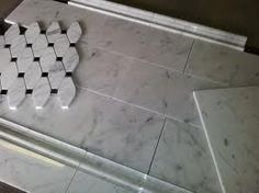 Nice marble tile combination