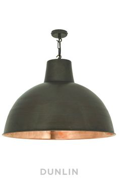 Wooster St. Copper Pendant Light Extra Large