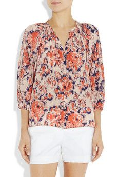 Yes or no on the blouse? Too busY?