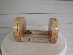 Birch Coaster Holder by marys4everflowers on Etsy, $11.00