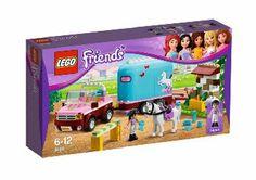 LEGO Friends 3186 - Geländewagen mit Pferdeanhänger: