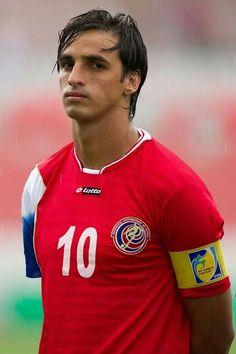 Captain Bryan Ruiz - Costa Rica Football Icon, World Football, World Cup 2014, Fifa World Cup, Bryan Ruiz, International Football, National Football Teams, Soccer Players, Sexy Men