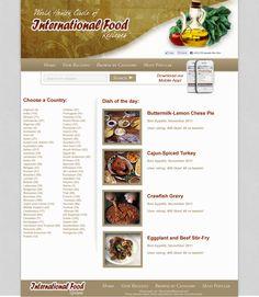 Reciepe website