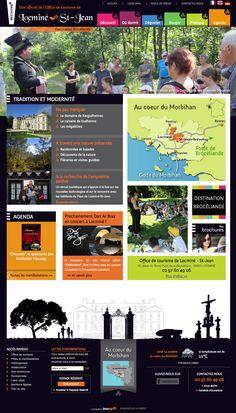 Idéalement situé au cœur du Morbihan, l'office de tourisme de Locminé-Saint Jean vous invite à découvrir une Bretagne authentique et moderne, à quelques pas des sites touristiques majeurs : Brocéliande et le Golfe du Morbihan.  Réalisé par StartUp sous E-majine. www.locmine-saintjean-tourisme.fr