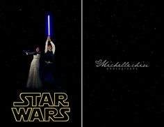 lmao! Andrew will prolly want this! Star Wars Wedding Pic.